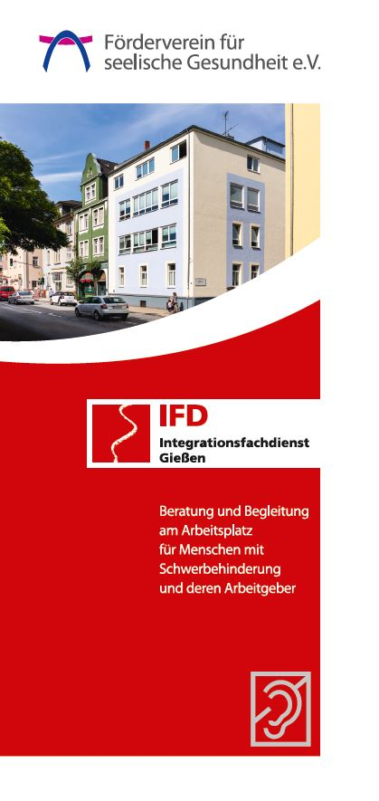 Flyer IFD Integrationsfachdienst Foederverein Giessen